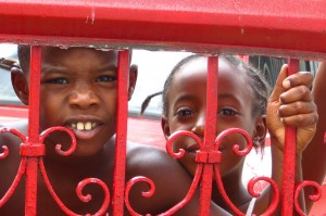 Children in Viales, Cuba